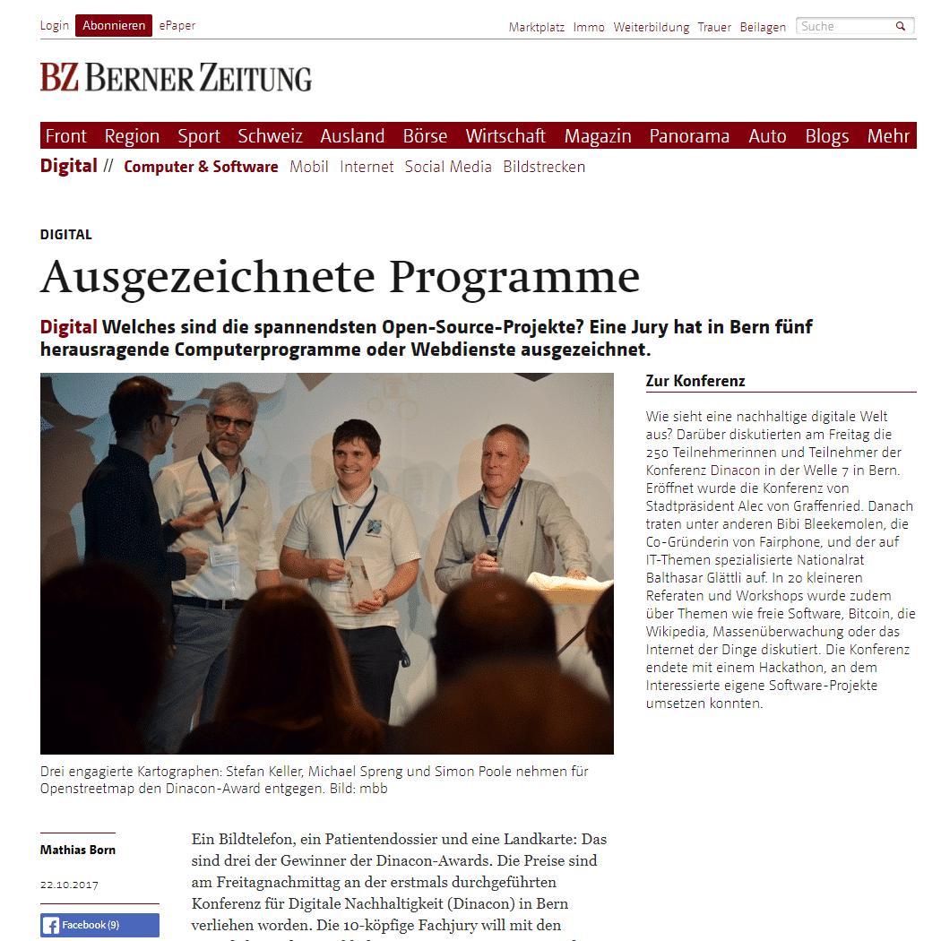 BernerZeitung_Awards